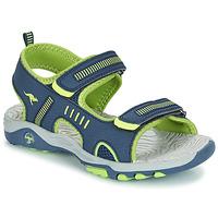 Schuhe Jungen Sandalen / Sandaletten Kangaroos K-LOGAN Marine / Grün