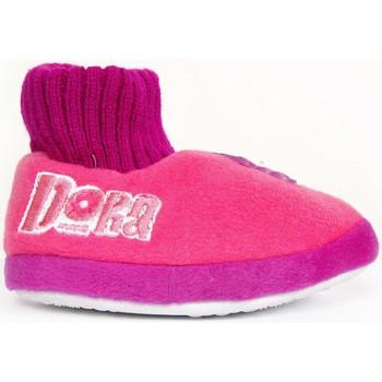 Schuhe Mädchen Hausschuhe Dessins Animés 380120 Rosa