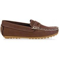 Schuhe Jungen Slipper Garatti AN0074 Marr?n