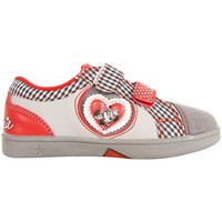 Schuhe Mädchen Sneaker Low Disney Minnie Mouse 2303-635 Gris