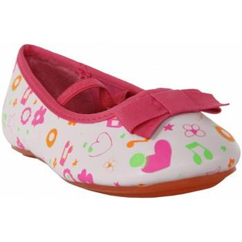 Schuhe Mädchen Ballerinas Flower Girl 149200-B2040 Blanco