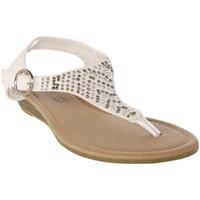 Schuhe Mädchen Sandalen / Sandaletten Happy Bee B115782-B4600 Blanco