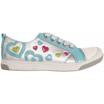 Schuhe Mädchen Sneaker Low Flower Girl 148711-B2040 Plateado