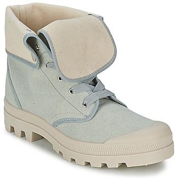 Schuhe Damen Sneaker High Casual Attitude BOPESSA Grau