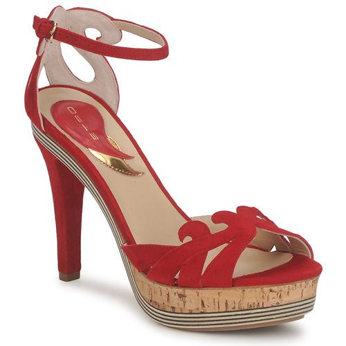 Etro 3488 Rot Schuhe Sandalen / Sandaletten Damen 297,50