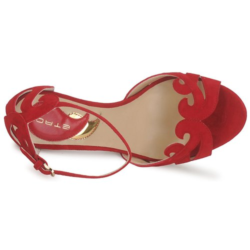 Etro 3488 Rot  Schuhe Sandalen / Sandaletten Damen 476