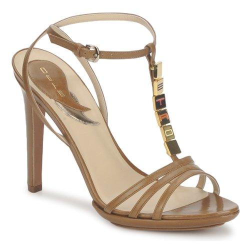 Etro 3443 Braun  Schuhe Sandalen   Sandaletten Damen