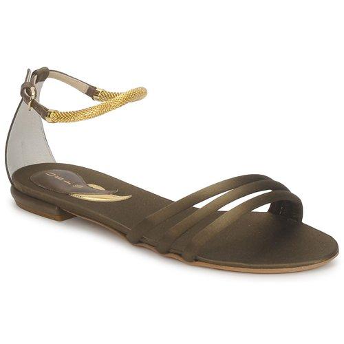 Etro 3461 Army  Schuhe Sandalen / Sandaletten Damen 295,20