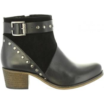 Schuhe Damen Klassische Stiefel Cumbia 31085 Negro