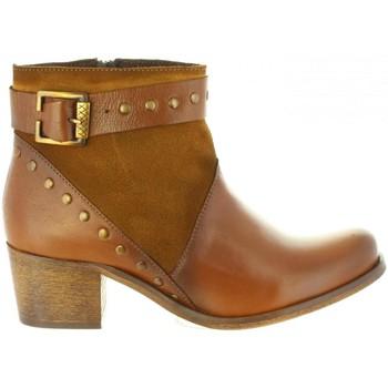 Schuhe Damen Klassische Stiefel Cumbia 31085 Marrón