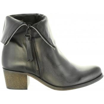 Schuhe Damen Klassische Stiefel Cumbia 30322 Negro