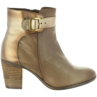 Schuhe Damen Klassische Stiefel Cumbia 31058 Marrón