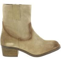 Schuhe Damen Klassische Stiefel Cumbia 30774 Marrón