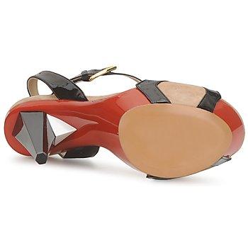 Etro 3505 Schwarz / Orange - Kostenloser Versand |  - Schuhe Sandalen / Sandaletten Damen 47120