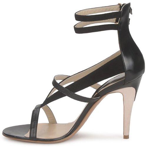 Etro 3511 Schwarz Schuhe Sandalen / Sandaletten Damen 249,50