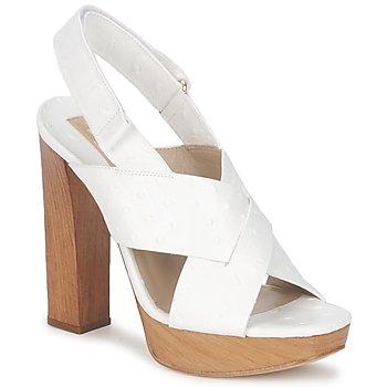 Schuhe Damen Sandalen / Sandaletten Michael Kors MK18072 Weiss