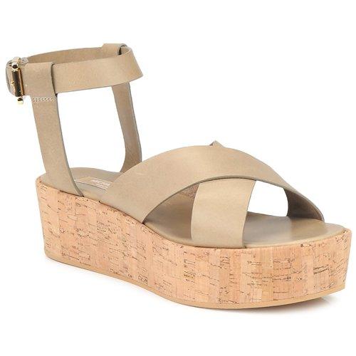 Schuhe Damen Sandalen / Sandaletten Michael Kors MK18132 Sand