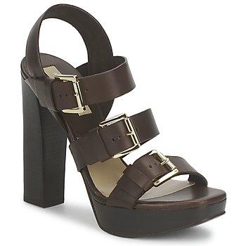 Schuhe Damen Sandalen / Sandaletten Michael Kors MK18071 Kaffee