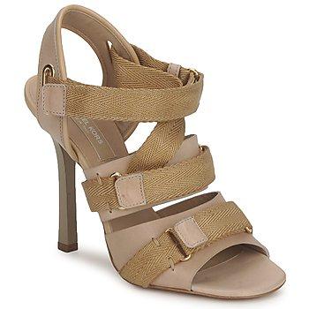Schuhe Damen Sandalen / Sandaletten Michael Kors MK118113 Beige