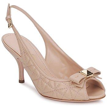 Schuhe Damen Sandalen / Sandaletten Sebastian S5244 Beige