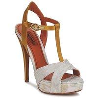 Schuhe Damen Sandalen / Sandaletten Missoni TM30 Gold / Silber