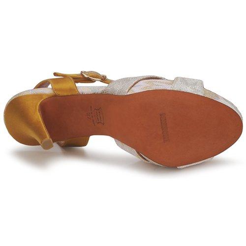 Missoni TM30 Gold Sandaletten / Silber  Schuhe Sandalen / Sandaletten Gold Damen 380 691b5c