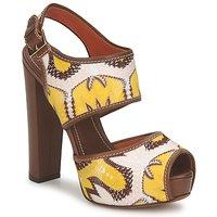 Schuhe Damen Sandalen / Sandaletten Missoni TM81 Braun / Beige / Gelb