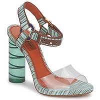 Schuhe Damen Sandalen / Sandaletten Missoni TM63 Hellblau