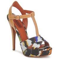 Schuhe Damen Sandalen / Sandaletten Missoni TM69 Multifarben