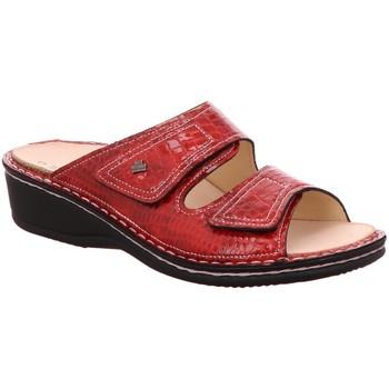 Schuhe Damen Pantoffel Finn Comfort Pantoletten Jamaika Pantolette 2519/018063 rot