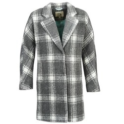 Kleidung Damen Mäntel Yumi EHIME Weiss / Grau
