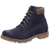 Schuhe Mädchen Boots Vado Schnuerstiefel Milan Winterboot 85201-101 blau