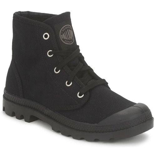 Stiefelletten / Boots Palladium US PAMPA HI Schwarz 350x350