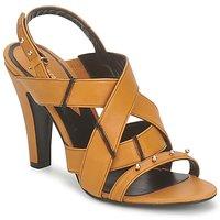 Schuhe Damen Sandalen / Sandaletten Karine Arabian DOLORES Safran-schwarz