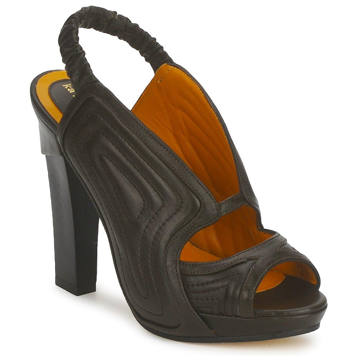 Karine Arabian ORPHEE Schwarz - Kostenloser Versand bei Spartoode ! - Schuhe Sandalen / Sandaletten Damen 274,50 €