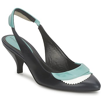 Schuhe Damen Sandalen / Sandaletten Karine Arabian LILA Weiss / Türkis