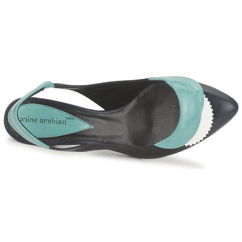 Karine Arabian LILA Weiss   Türkis Türkis Türkis  Schuhe Sandalen   Sandaletten Damen 0927c7