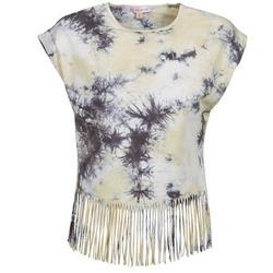Kleidung Damen T-Shirts Moony Mood CACILIA Grau / Gelb