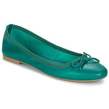 Schuhe Damen Ballerinas André PIETRA Grün