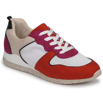 Schuhe Damen Sneaker Low André ADO Rot