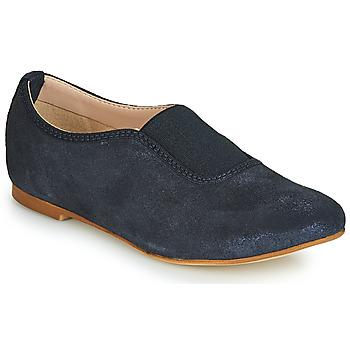 Schuhe Mädchen Slipper André MALAGA Marine