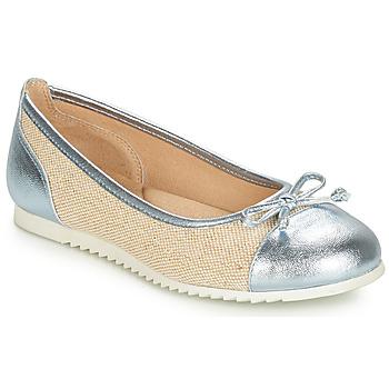 Schuhe Mädchen Ballerinas André RIVAGE Blau / Beige