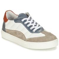 Schuhe Jungen Derby-Schuhe André ALBATROS Weiss