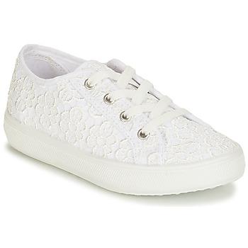 Schuhe Jungen Sneaker Low André MARGHERITA Weiss