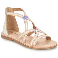 Schuhe Mädchen Sandalen / Sandaletten André MELODIE Weiss