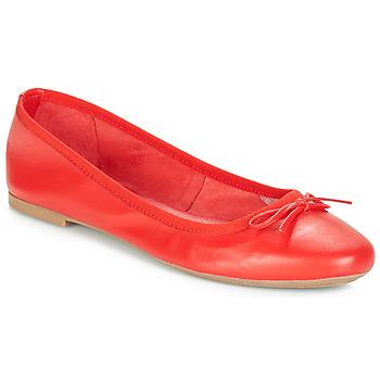 Schuhe Damen Ballerinas André PIETRA Rot