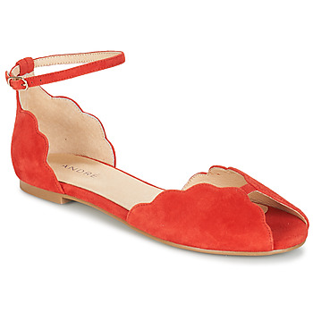 Schuhe Damen Sandalen / Sandaletten André SERINGAT Rot