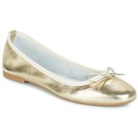 Schuhe Damen Ballerinas André PIETRA Gold