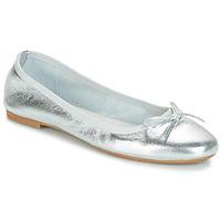 Schuhe Damen Ballerinas André PIETRA Silbern