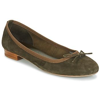 Schuhe Damen Ballerinas André CINDY Kaki